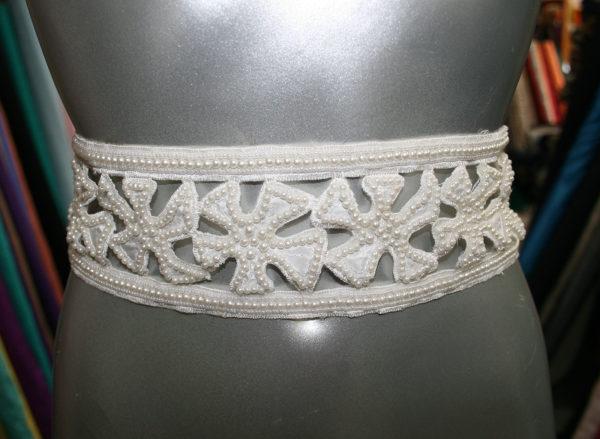 bridal beaded border