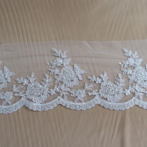 bridal border trim lace