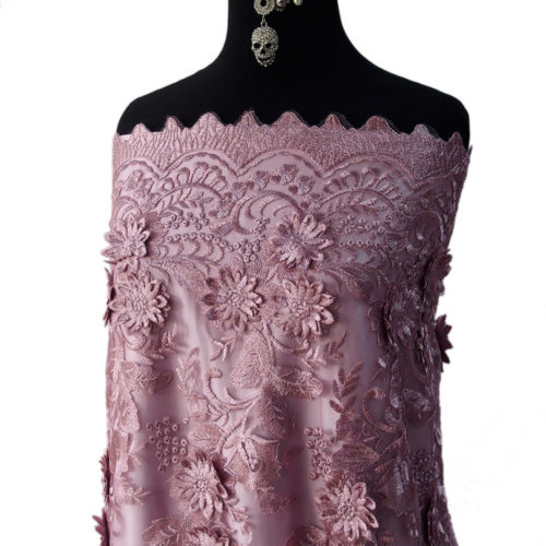Lace Guipure Beaded Bodikian Textiles