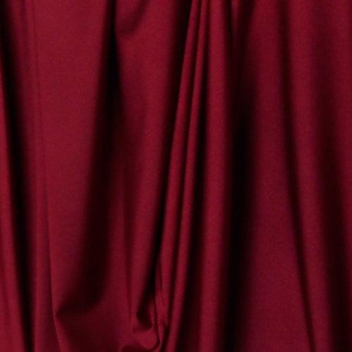 burgundy Lycra Spandex fabric