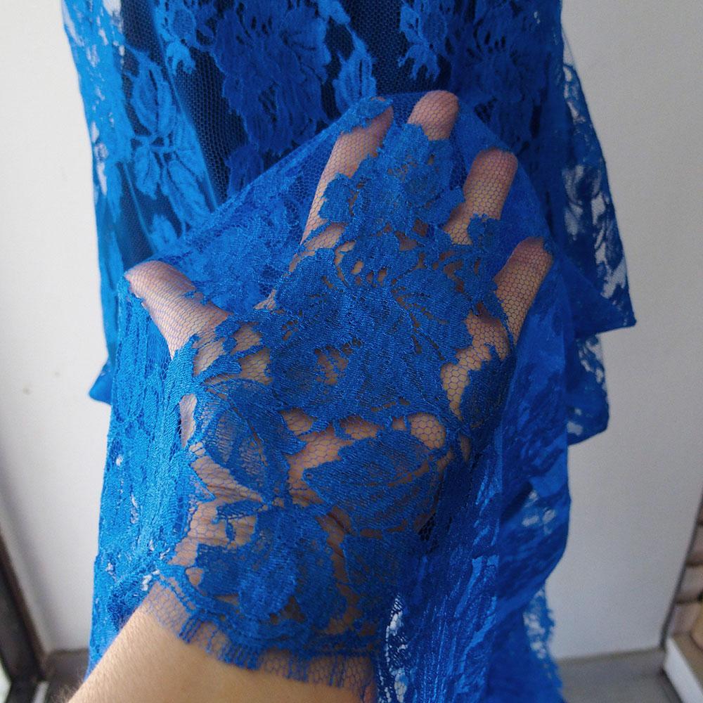 cobalt blue lace