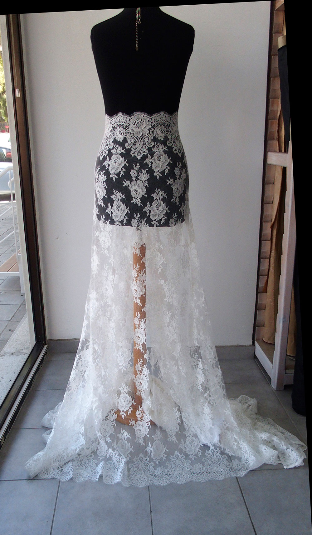 French wedding lace
