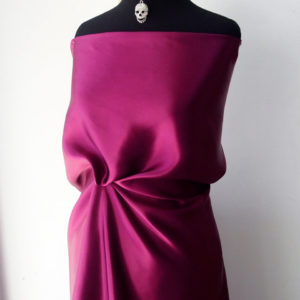 purple silk satin