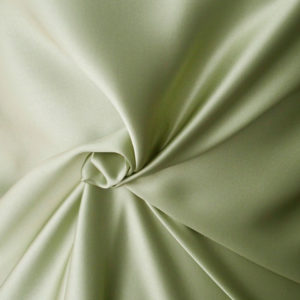 green silk satin