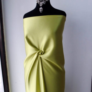 lime green silk