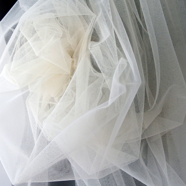 ivory tulle
