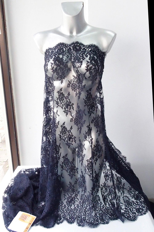 blue-black lace