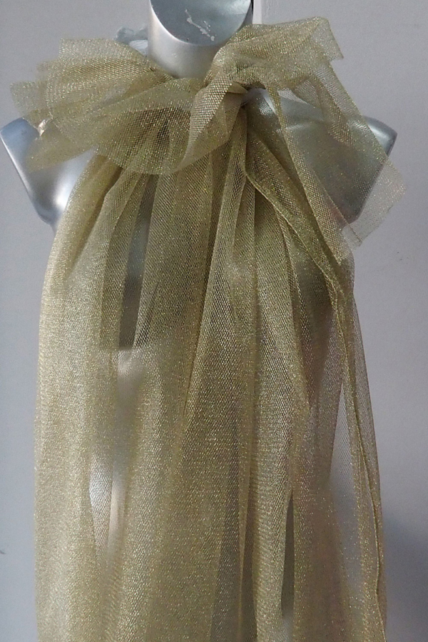 gold tulle