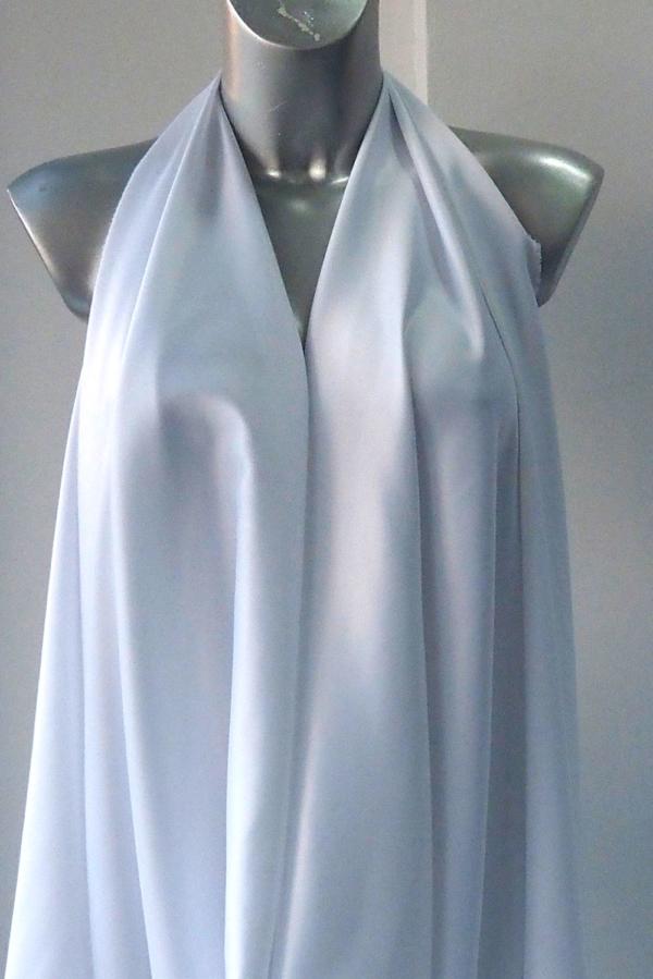 white satin bridal