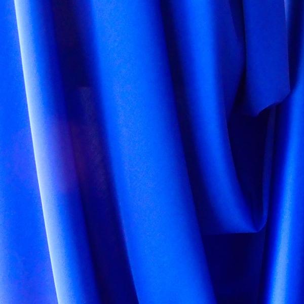 cobalt blue satin