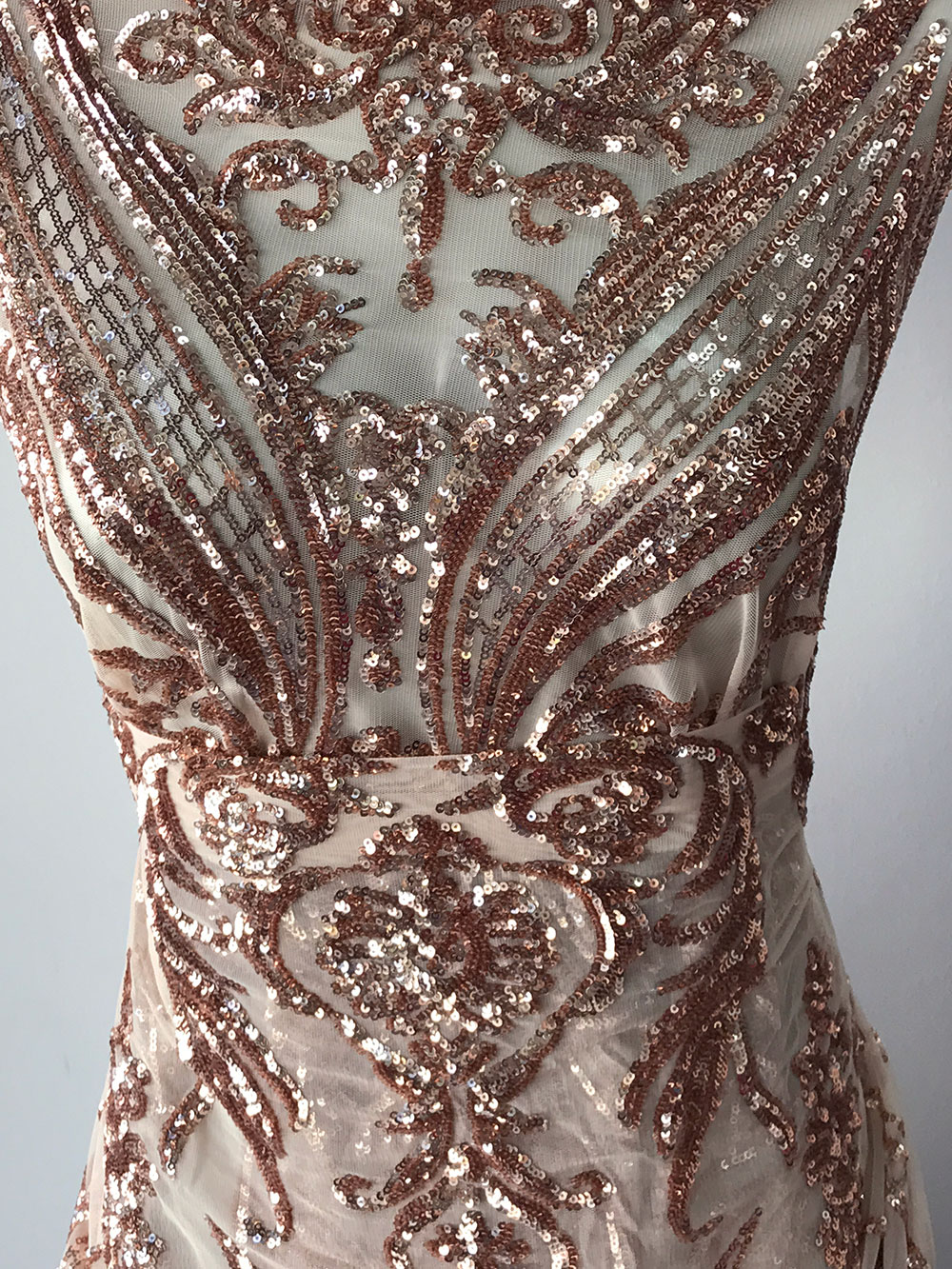 rose gold lace