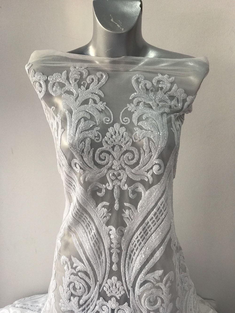 baroque bridal lace