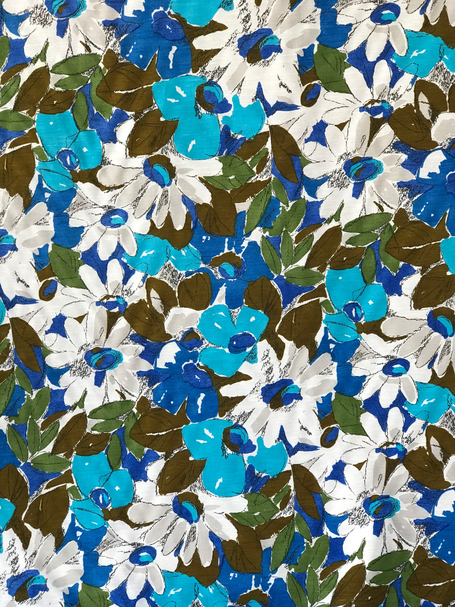 summer dress floral fabric
