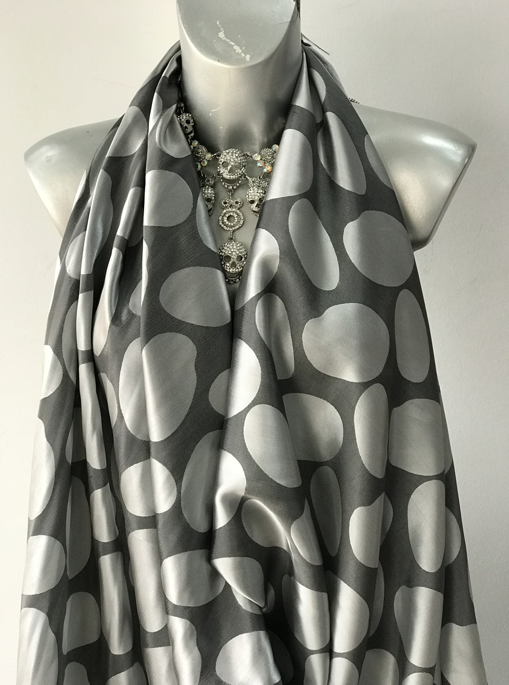 large spots dots fabric