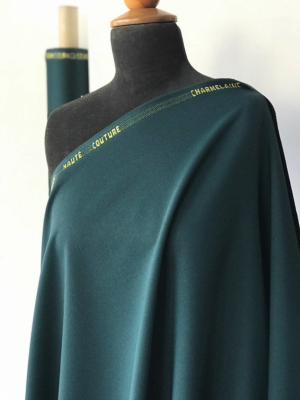 Green Wool suiting
