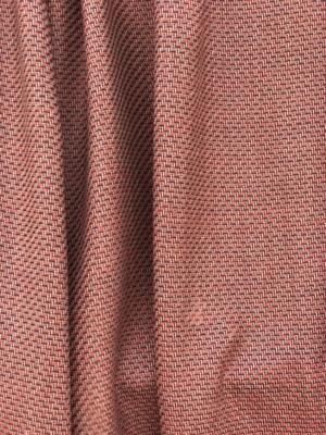 multi colour fine wool suiting fabric, pure wool , fancy weave, burnt orange russet beige
