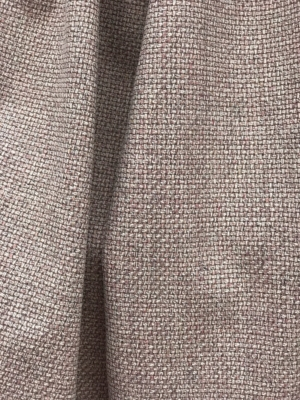 taupe brown dusky pink fancy wool fabric,  wool and silk suiting by Dormeuil high end made in France