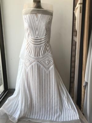 bridal sequins lace