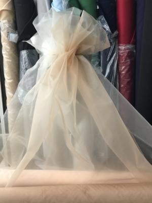polyester crinoline nude