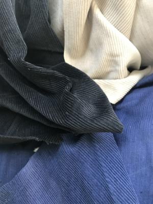 blue corduroy fabric