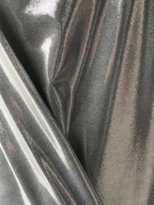 silver metallic lycra