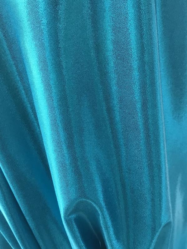 turquoise lycra