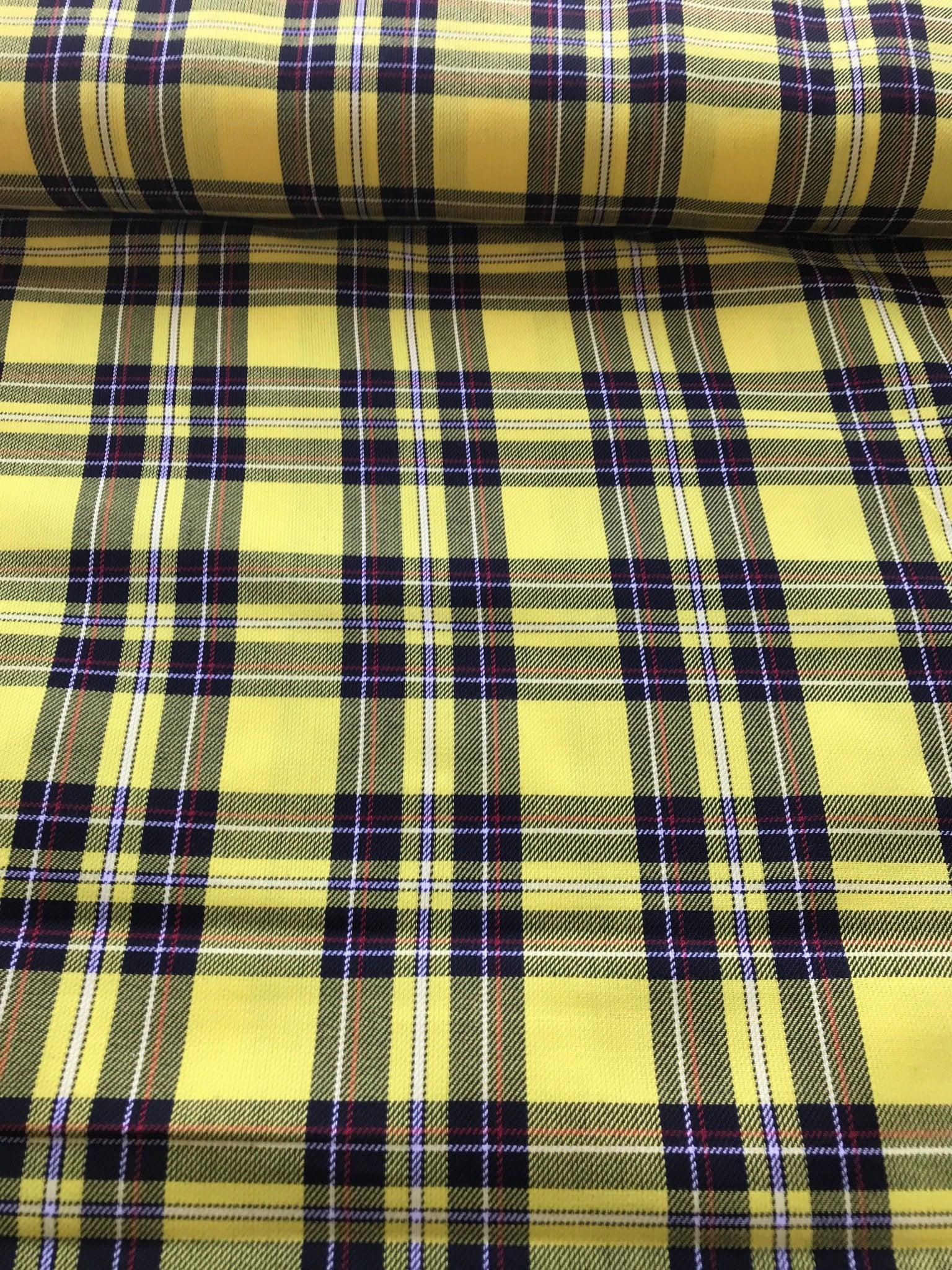 Macleod tartan fabric