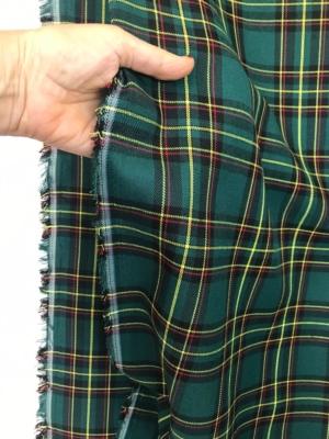 green yellow tartan