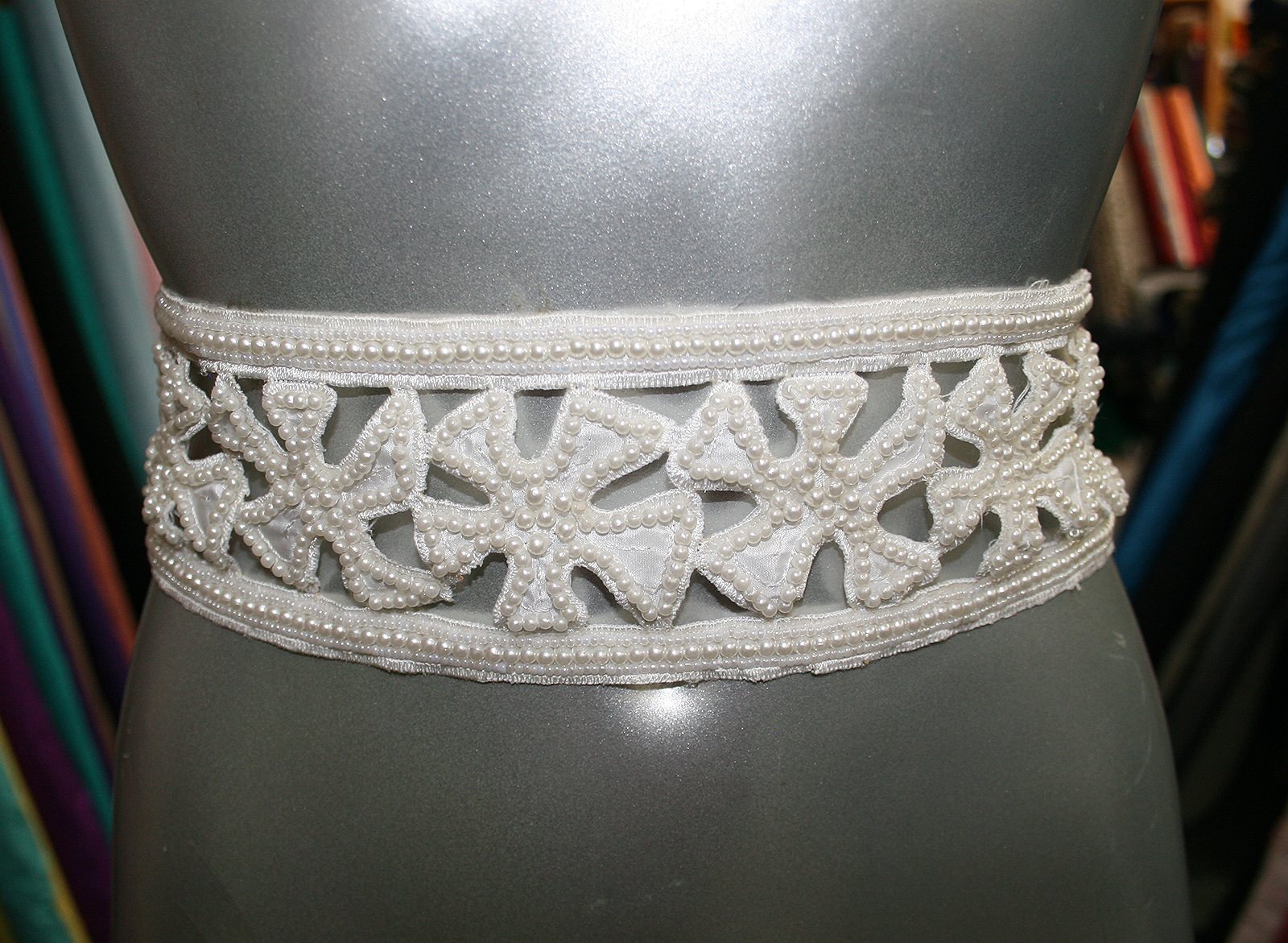 bridal beaded border