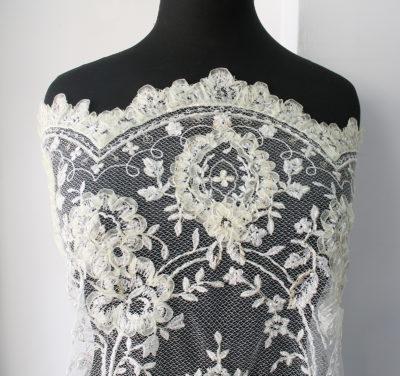 bridal lace fabric