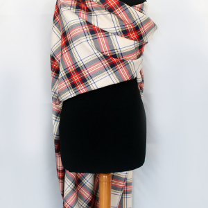 red white tartan