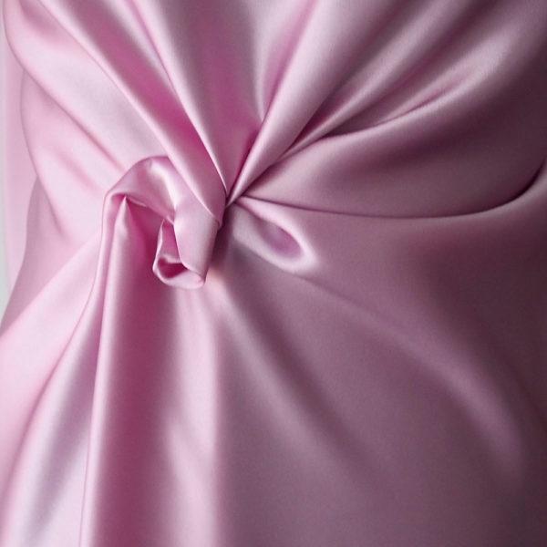 pink satin fabric