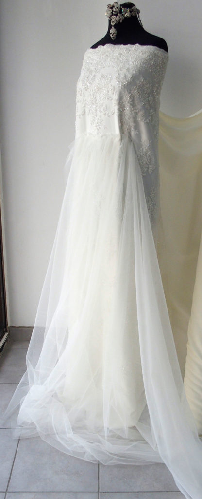 soft bridal tulle