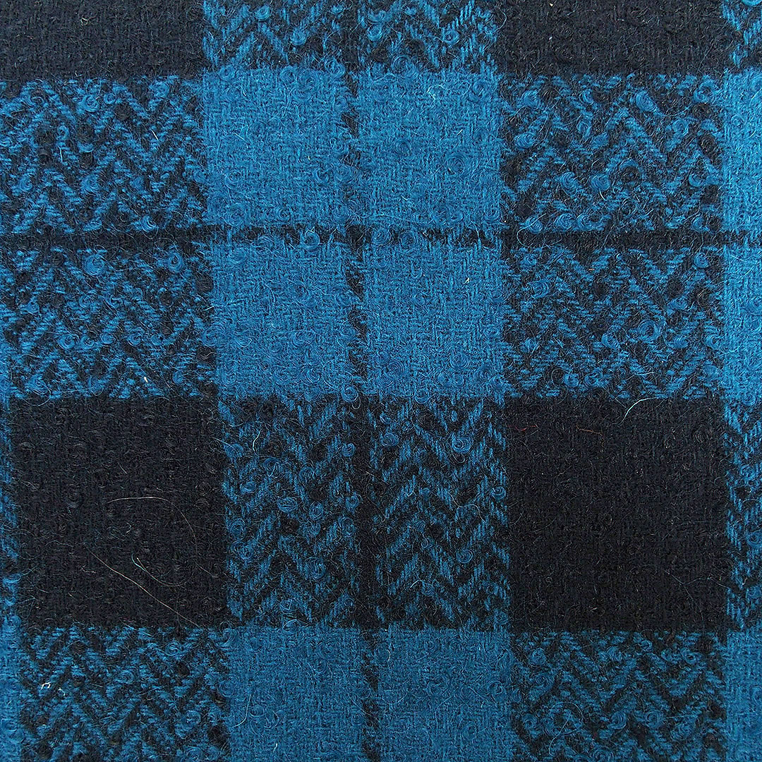 Boucle Tweed Fabric Prince De Galles Prince Of Wales Check