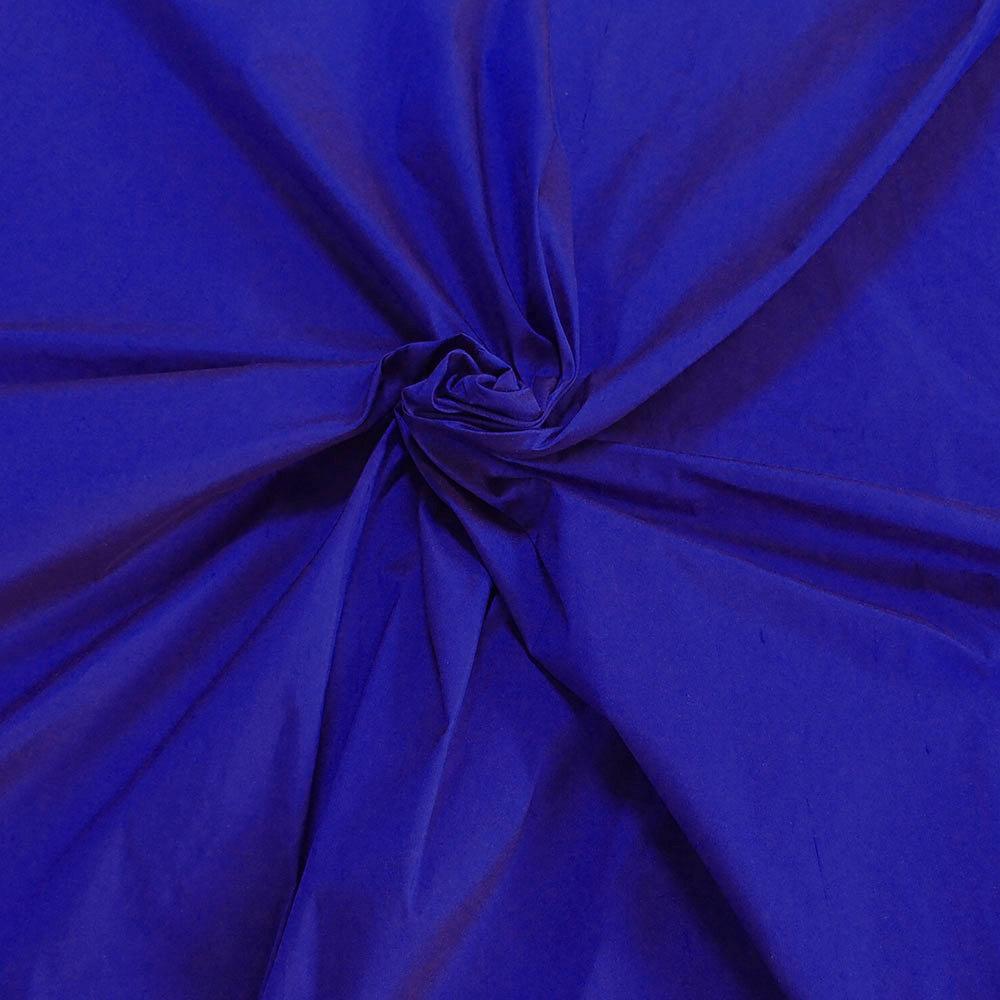 Purple Blue Cobalt Blue 100 Dupioni Silk Fabric Yardage