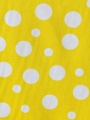 cotton pique spots fabric