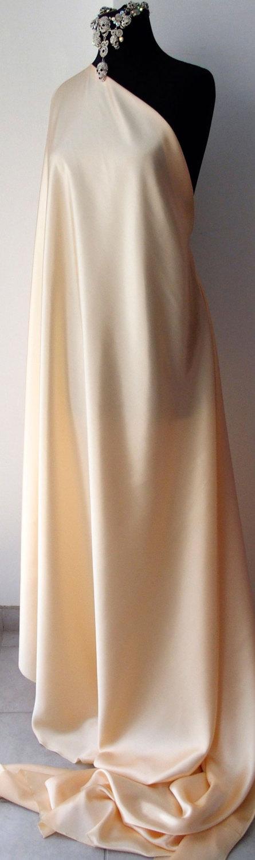 ivory silk satin