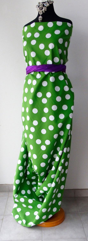green white dots