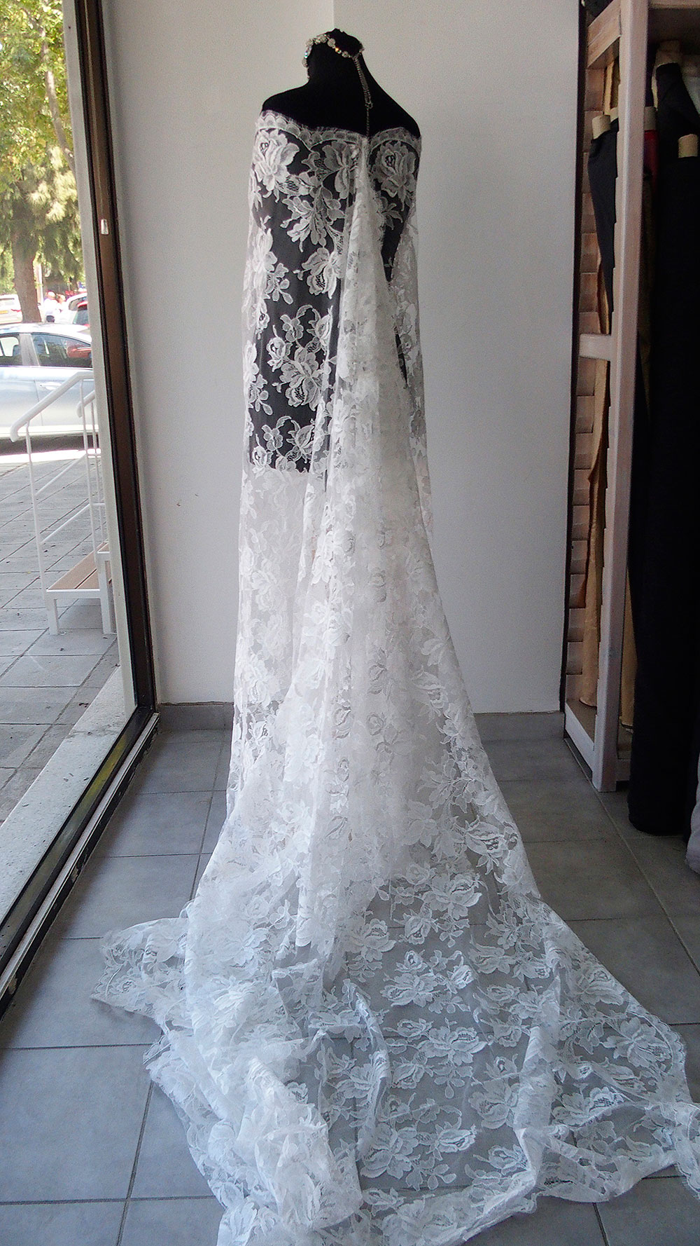 French bridal lace