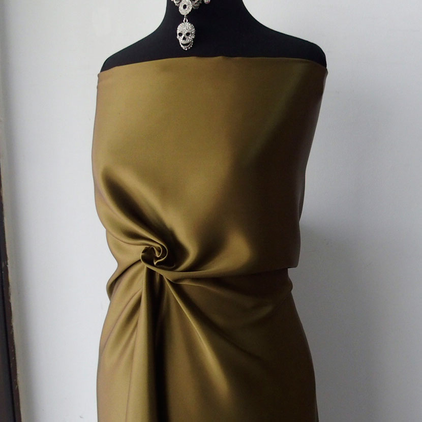 dark green satin