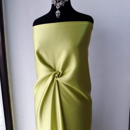lime green silk