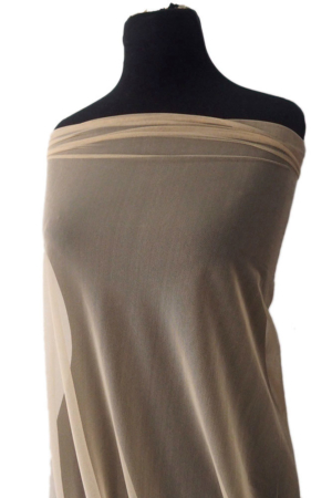 nude spandex tulle
