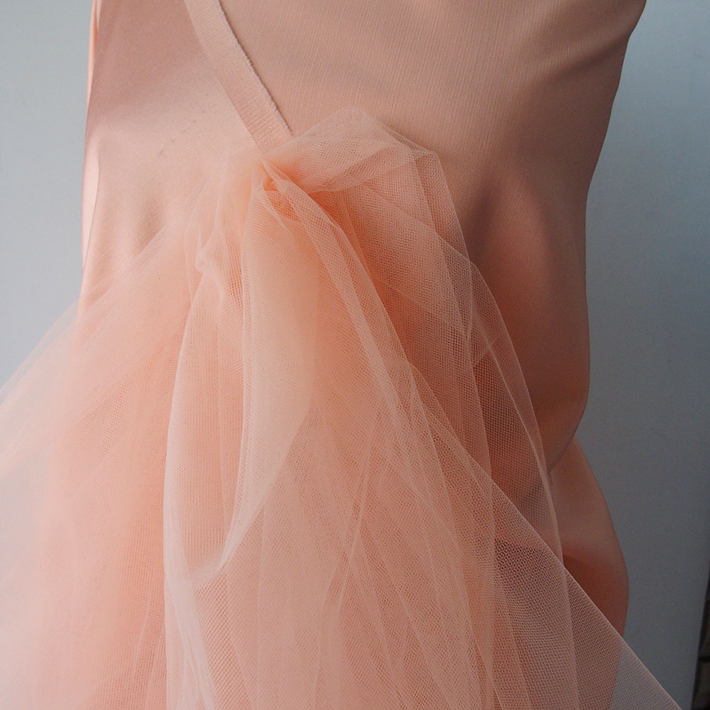 coral tulle