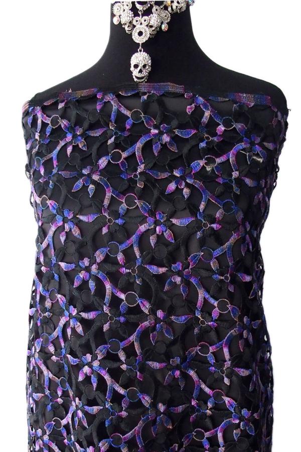 multi color lace