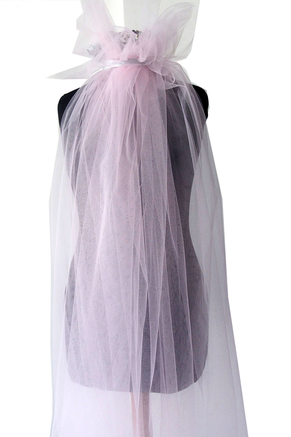 pale pink tulle