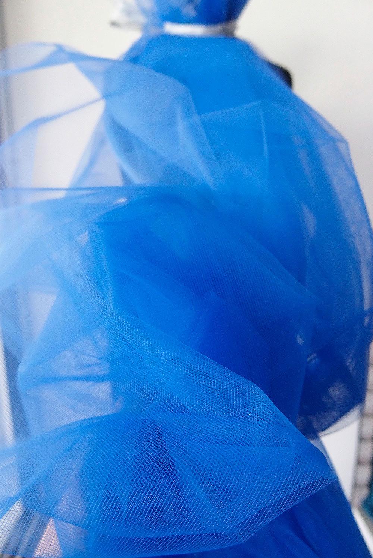 cobalt blue tulle