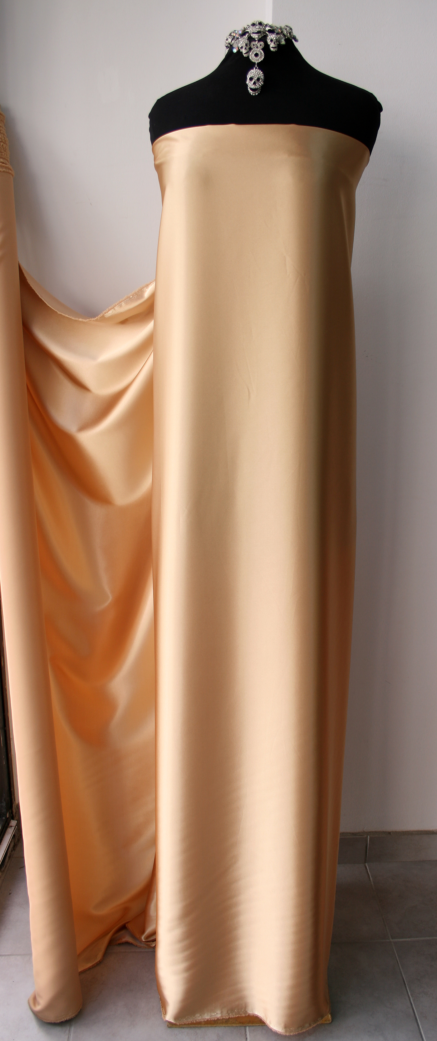 Dull Satin with Elastine