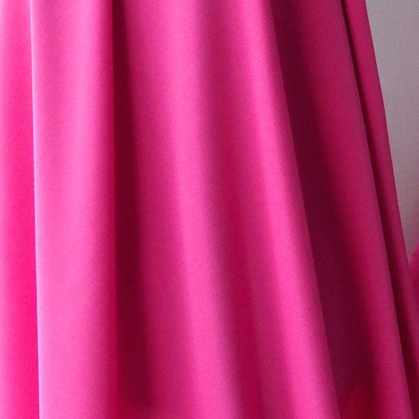 fuchsia satin fabric
