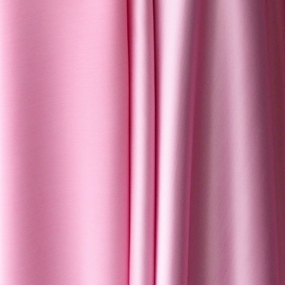 Pink Satin Back Crepe Fabric