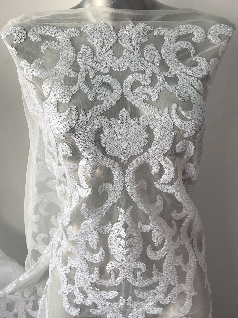 bridal lace off white lace Baroque bridal lace wedding dress lace ...